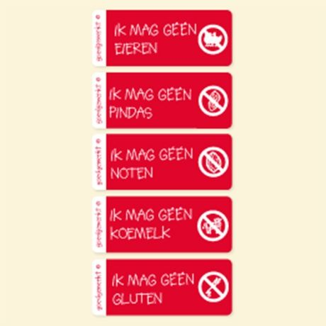 Allergie Labels