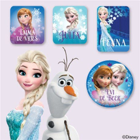 Disney Frozen Kledingstickers