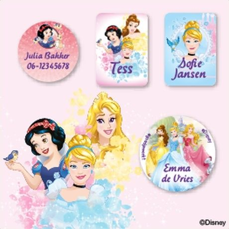 Disney Prinsessen Kledingstickers