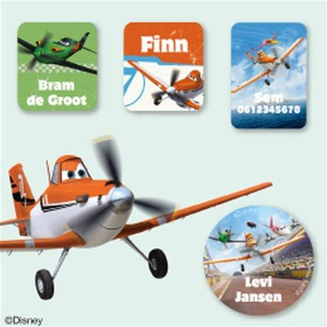 Planes Kledingstickers