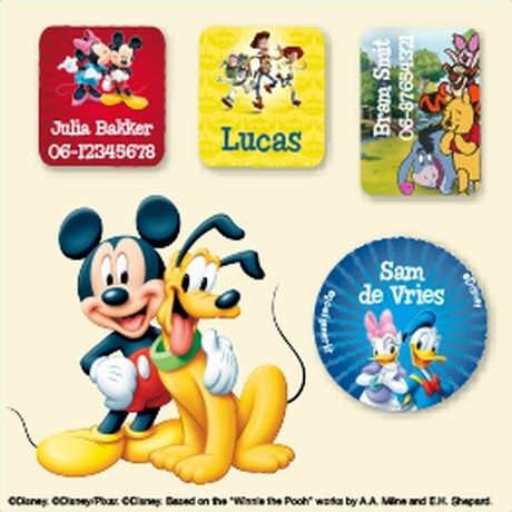 Disney Kledingstickers